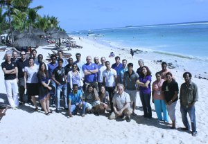 SuperJEDI 2013 group photo - Mauritius